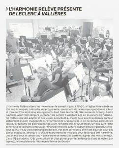 20160601 - PLUS - Harmonie Relève